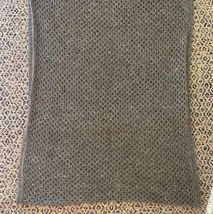 H&M Stylish Grey Infinity Scarf